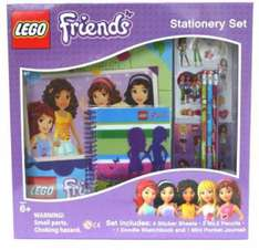 Lego friends stationery set - £5 @ Hobbycraft