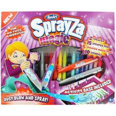 Sprayza Magic Pens Set (like Blo Pens) Just £7.49 @ The Works or £9.99 usual price