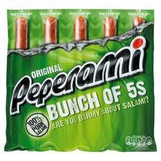 Peperami Pork Salami Sausages pack of 5 £1.50 at Asda (£2.50 elsewhere)