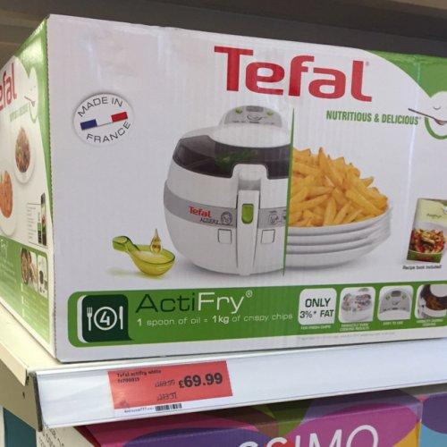 Tefal actifry less than half price £69.98 @ Sainsburys instore