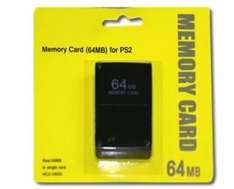 PS2 64MB Memory Card - 64MB memory card for Sony PS2 £3.20 Sold by ibestsky and Fulfilled by Amazon.