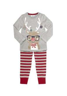 F&F Reindeer Pyjamas Tesco   £3.00 - £3.50 free home delivery ages 2-3-5-6