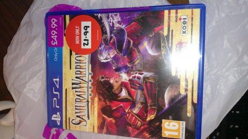 Samurai Warriors 4 PS4 £21.99 @ Game