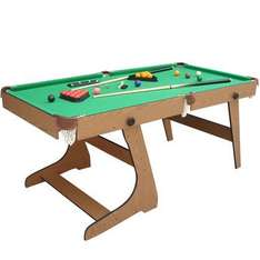 6ft Folding Snooker and Pool Table - £99.99 @ Toys'Я'Us
