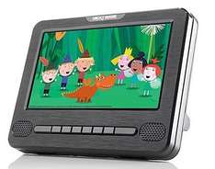 "Nextbase Car 7 - 7"" Portable In-Car DVD Player £50.00 @ Halfords"