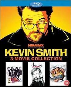 Kevin Smith : 3 Movie Collection [Blu-ray] £8.99 on Zavvi.com