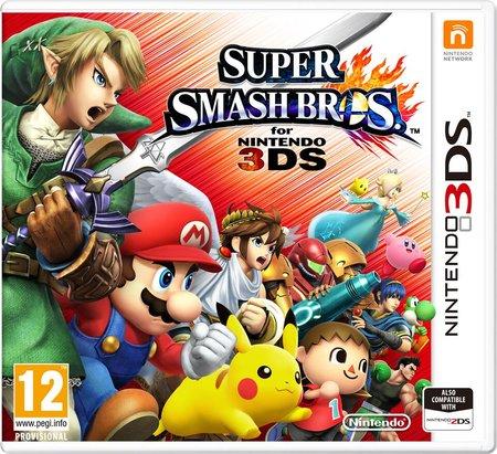 Super Smash Bros. 3DS £24.71 @ Rakuten/Thegamecollection