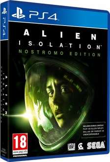 Alien Isolation: Nostromo Edition PS4 £24.99 Delivered from Amazon (Sold by MyMemory)