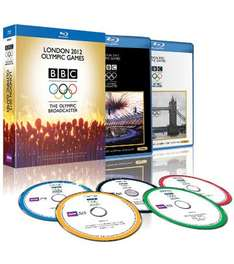 London 2012 Olympic Games Blu Ray @ BBC.co.uk + Quidco Cashback - £5.99 or 3 for £15