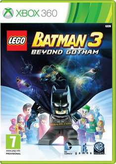 LEGO Batman 3: Beyond Gotham - Xbox 360 & PS3 - £24.00 @ Amazon