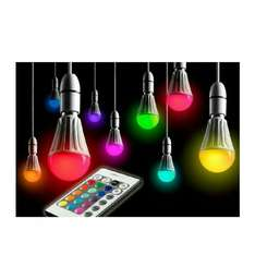 Auraglow Remote Controlled Colour Changing Light Bulb @ Sold by Safield Dist. Ltd and Fulfilled by Amazon. - £12.99
