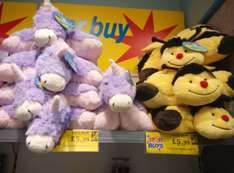 "Pillow Pets Unicorn/Bee 18"" for £5.99 @ Home Bargains"
