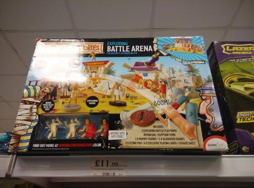 Horrible Histories Exploding Battle Arena £11.99 @ Home Bargains