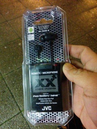 JVC HA-FR201 earphones with microphone £5.50 @ Tesco cheetham hill