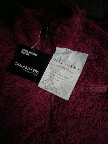 Craghoppers fleece was £50 now £15 @ Debenhams
