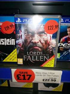 Lords of the Fallen - PS4 Game - £22.99 @ Sainsburys