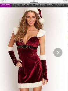 Sexy Santa only £12 free c&c @ Ann Summers