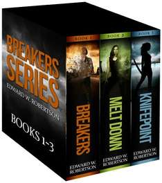 4 Great Sci-Fi  Books   - Edward W. Robertson - The Breakers Series: Books 1-3 [Kindle Edition]  +   Outcome (Breakers - The  Prequel)   - Normally £2.35 each on Kindle But Currently Free To Download @ Amazon