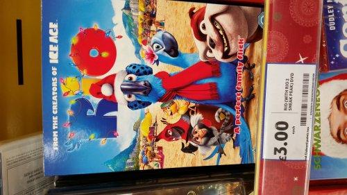 Rio dvd. £3 @ Tesco
