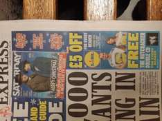 Fiver off a £40 shop at LIDL and free Nutcracker in today's Daily Express - 55p