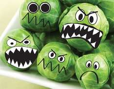 spend £1 or more on brussel sprouts and claim 50p back via topcashback snap & save