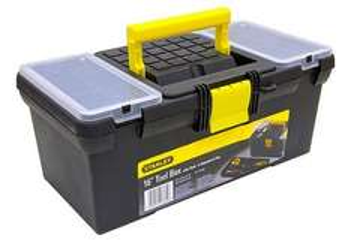 "Stanley 16"" Tool Box @ Halfords - £7"