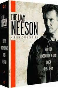 Liam Neeson (DVD Boxset)  £6 @ tesco direct