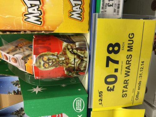 Star Wars Mug and Chocolates - 94p instore @ Makro