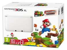 Nintendo 3DS XL with Super Mario 3D Land - £139 from Amazon