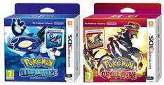 Pokemon Omega Ruby/Alpha Sapphire Limited Editions [2DS/3DS] - £29.97 @ GamestopUK (+ 5% Quidco/5.25% TCB)
