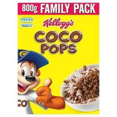 Kellogg's Coco Pops 2 x 800g for £5 at Asda (78p cheaper than elsewhere)