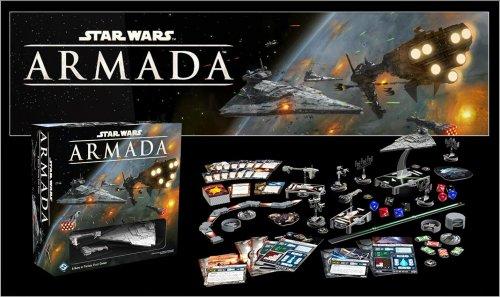Star Wars Armada Fantasy Flight Games Tabletop Game Preorder £46.36 @ Amazon