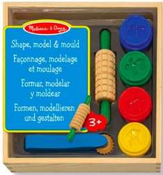 Melissa & Doug Shape, Model and Mould Set delivered £7.49 @ Amazon (Free delivery £10 spend / Prime)