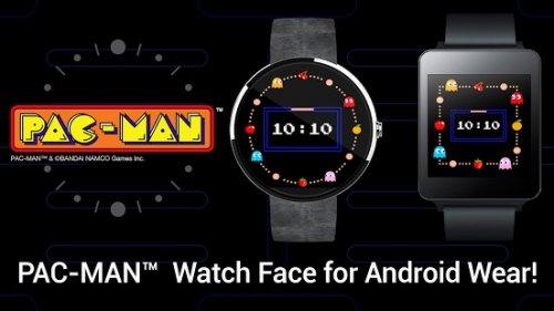 PAC-MAN Wear Watch Face -  63p -  Play Store