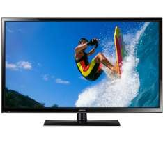 Samsung PE43H4500 43 Inch HD Ready 720p Plasma TV With Freeview £229 plus 5 yr guarantee at Tesco Direct