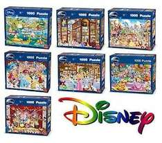 Disney 1000 piece Jigsaw Puzzles (by King) 7 to choose from. £7.99 free p&p @ ebay/quickdraw_toys_and_party