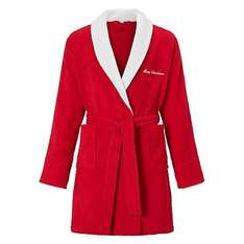 John Lewis Novelty Christmas Robe Was £24 Now £12