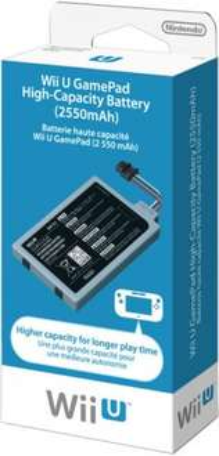 Nintendo Wii U Game Pad High Capacity Battery (Wii U) £24.99 @ Nintendo Store UK + Quidco/TopCashBack