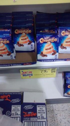 terrys chocolate orange minis 136gm 79p @ home bargains