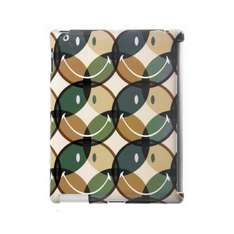 """SMILEY iPAD 2 IMD BACK-CLIP SMARTCOVER COMPATIBLE """"CAMOUFLAGE GREEN"""" 95p @ Amazon (Add on Item)"""