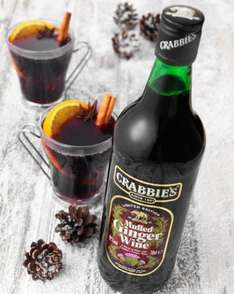 Crabbies ginger mulled wine £4.99 @ Home bargains