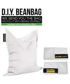 DIY bean bag (180x140cm waterproof - outdoor use) fill it yourself £8.26 (plus £3 postage) Plain lazy