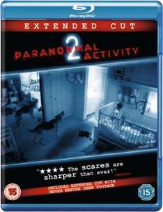 Paranormal Activity 2 Extended Cut Blu-Ray £1.99 delivered at Zavvi