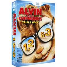 Alvin And The Chipmunks: Triple Box Set (Blu-ray) £10 delivered via Play.com/FoxDirect