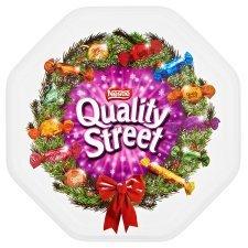Quality Street tins 1.315kg £7  in Tesco instore in longton stoke on trent but nationwide offer