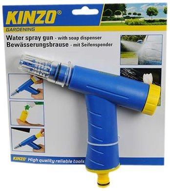 Kinzo Multi-Functional Water Spray Gun with Soap Dispenser £1.02 @ Amazon  (add on item / £10 spend)