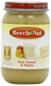 Beech Nut Stage 3 Home Style Rice Cereal and Pears 170 g (Pack of 12) now £2.52 (subscribe) @ Amazon