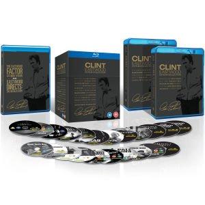 Clint Eastwood 20 Film Blu Ray Collection £33.99 @ Zavvi