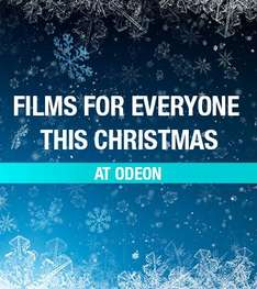 ODEON: Three Cinema Tickets for £12, Locations Nationwide (Excl. Those Inside M25) @ groupon