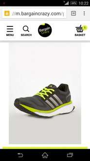 adidas boost running shoes £41.99 @ Bargain crazy
